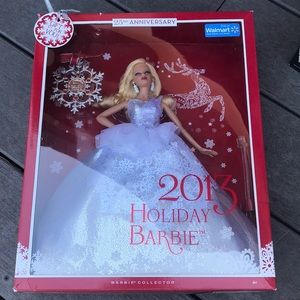 SOLD 2013 25th anniversary Holiday Barbie